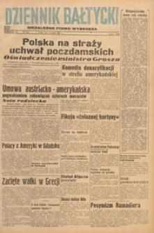 Dziennik Bałtycki 1947, nr 242