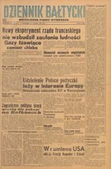 Dziennik Bałtycki 1947, nr 254