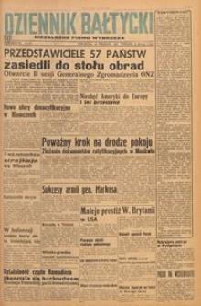 Dziennik Bałtycki 1947, nr 256 b