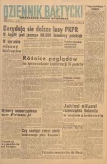 Dziennik Bałtycki 1947, nr 289