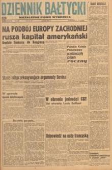 Dziennik Bałtycki 1947, nr 348