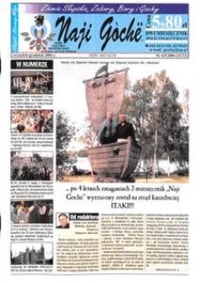 Naji Gochë : dwumiesięcznik społeczno-kulturalny, 2004, nr 4-5