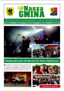 Nasza Gmina. Miesięcznik Samorządowy Gminy Wejherowo, 2015, czerwiec, Nr 6 (224)