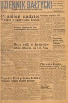 Dziennik Bałtycki, 1948, nr 137