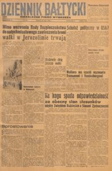 Dziennik Bałtycki, 1948, nr 142