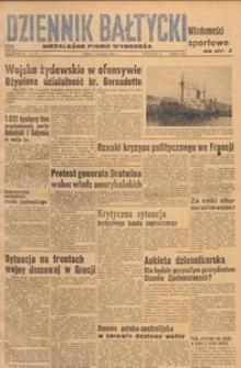 Dziennik Bałtycki, 1948, nr 153