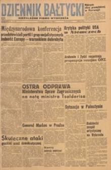Dziennik Bałtycki, 1948, nr 158