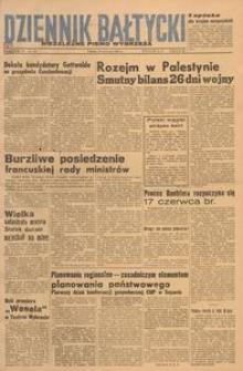 Dziennik Bałtycki, 1948, nr 160