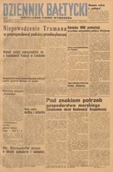 Dziennik Bałtycki, 1948, nr 161