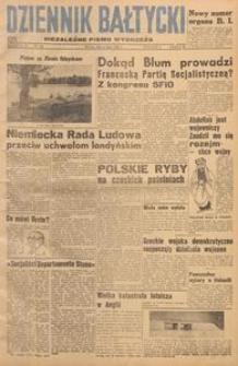 Dziennik Bałtycki, 1948, nr 184