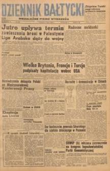 Dziennik Bałtycki, 1948, nr 186