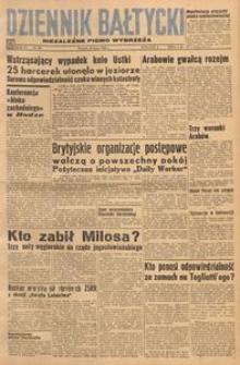 Dziennik Bałtycki, 1948, nr 198