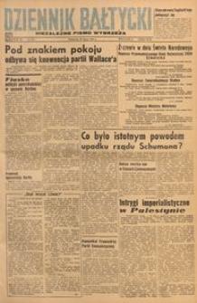 Dziennik Bałtycki, 1948, nr 203