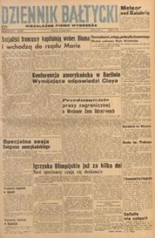 Dziennik Bałtycki, 1948, nr 205