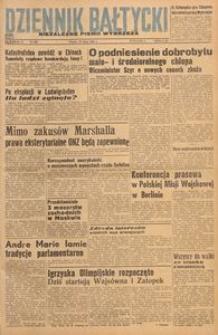Dziennik Bałtycki, 1948, nr 208