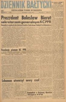Dziennik Bałtycki, 1948, nr 246