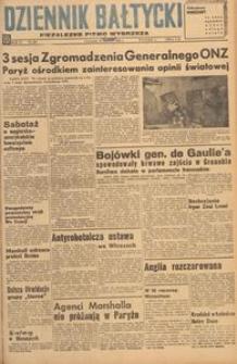 Dziennik Bałtycki, 1948, nr 263