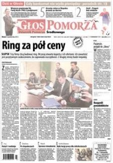 Głos Pomorza, 2013, październik, nr 247