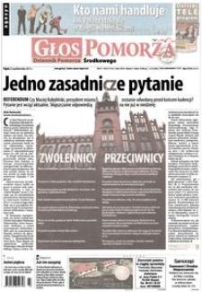 Głos Pomorza, 2013, październik, nr 250