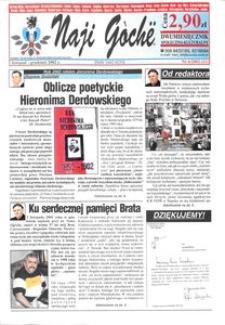 Naji Gochë : dwumiesięcznik społeczno-kulturalny, 2002, nr 6