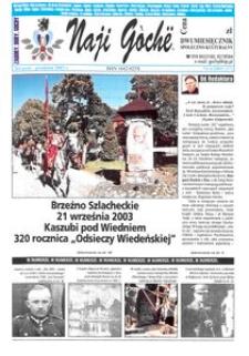 Naji Gochë : dwumiesięcznik społeczno-kulturalny, 2003, nr 6