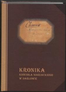 Kronika Kościoła Mariackiego w Darłowie. T. 1