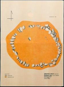 Jabłończ Wielki, stanowisko 1. Kurhan 2. Krąg kamienny