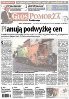 Głos Pomorza, 2014, październik, nr 245