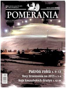 Pomerania : miesięcznik społeczno-kulturalny, 2015, nr 1