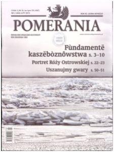 Pomerania : miesięcznik społeczno-kulturalny, 2015, nr 2
