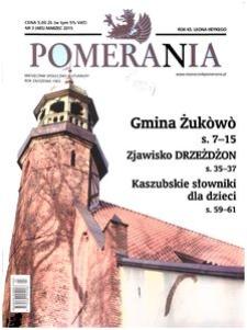 Pomerania : miesięcznik społeczno-kulturalny, 2015, nr 3