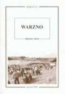 Warzno. Przeszłość i teraźniejszość wsi lesôckich w literaturze i pamięci mieszkańców