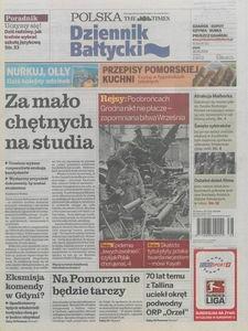 Dziennik Bałtycki, 2009, nr 219
