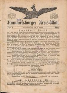 Rummelsburger Kreisblatt 1863