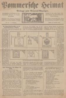 Pommersche Heimat. Beilage zum General-Anzeiger, 1913, Nr. 12
