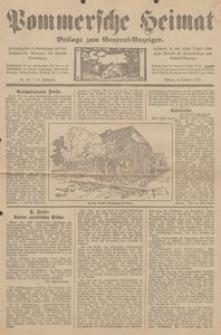 Pommersche Heimat. Beilage zum General-Anzeiger, 1913, Nr. 10