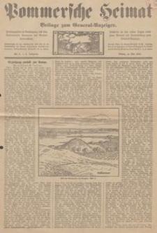 Pommersche Heimat. Beilage zum General-Anzeiger, 1913, Nr. 5