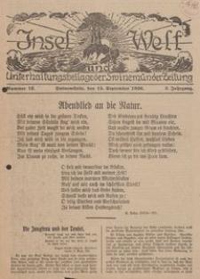 Insel und Welt. Unterhaltungsbeilage der Swinemünder Zeitung, 1926, Nr. 12