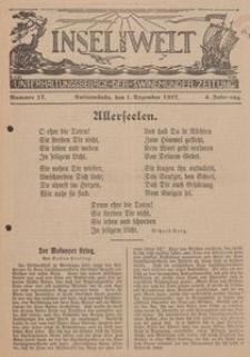 Insel und Welt. Unterhaltungsbeilage der Swinemünder Zeitung, 1927, Nr. 17