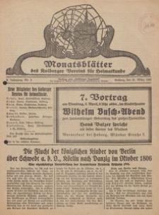 Monatsblätter des Kolberger Vereins für Heimatkunde, 1932, Nr. 3