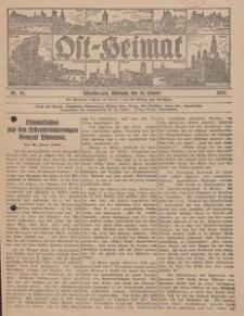 Ost-Heimat. Beilage zum Geselligen, 1927, Nr. 20