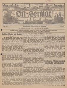 Ost-Heimat. Beilage zum Geselligen, 1927, Nr. 22