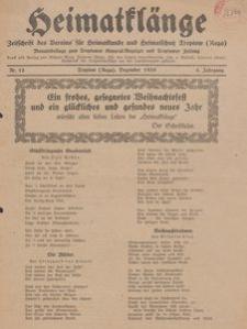 Heimatklänge. Zeitschrift des Vereins für Heimatkunde und Heimatschutz Treptow a. Rega, 1929, Nr. 12