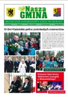 Nasza Gmina. Miesięcznik Samorządowy Gminy Wejherowo, 2016, kwiecień, Nr 04, (233)