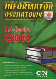 Informator Oświatowy, 2004, nr 4
