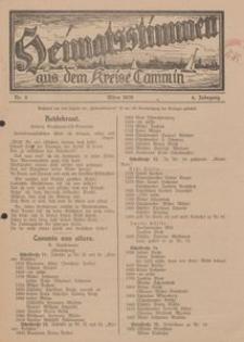Heimatsstimmen aus dem Kreise Cammin, 1928, Nr. 3