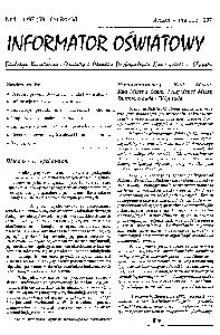 Informator Oświatowy, 1997, nr 1/3
