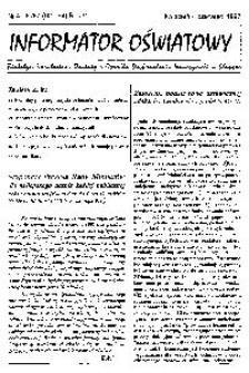 Informator Oświatowy, 1997, nr 4/6