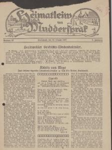 Heimatleiw un Muddersprak. Greifswalder Geschichts-Wochenkalender, 1927, Nr. 43