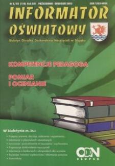 Informator Oświatowy, 2003, nr 5